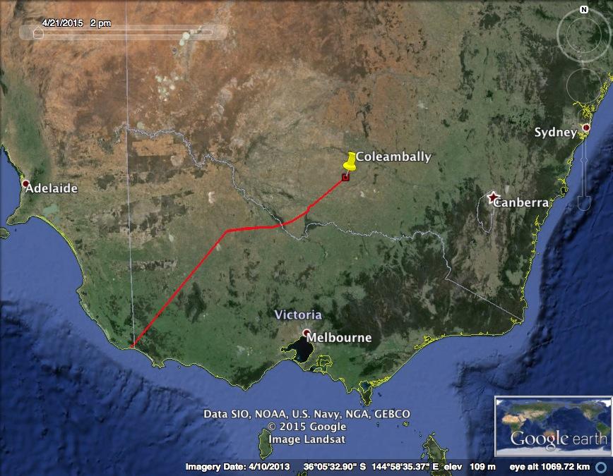 ROBBIE SOUTH AUSTRALIA